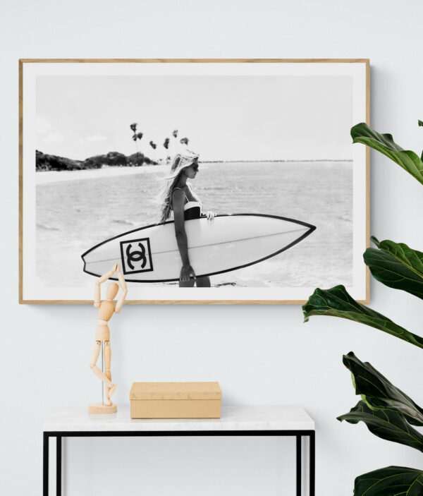 chanel surf in style - Uni Art Gallery